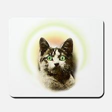 God Cat Mousepad