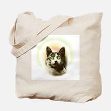 God Cat Tote Bag