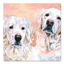 "Bliss and Baylee 9x12 Square Car Magnet 3"" x 3"""