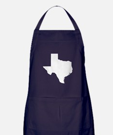whiteTX Apron (dark)