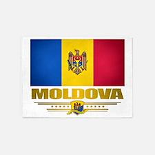Moldova (Flag 10) 2 5'x7'Area Rug