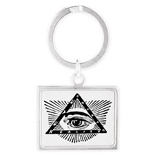 eye-create-reality Landscape Keychain