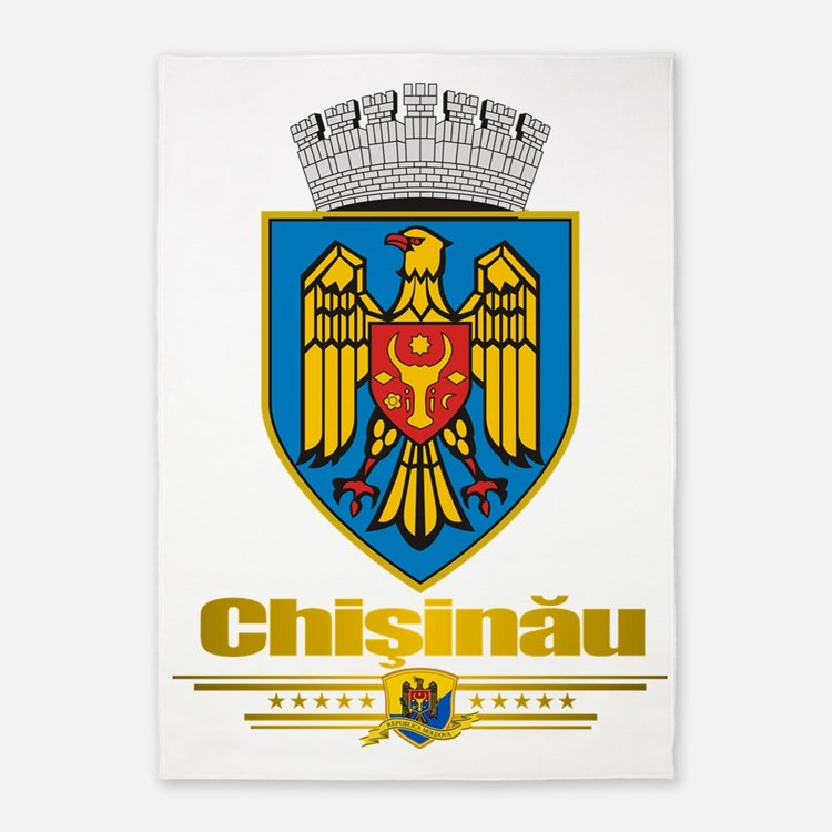 Chisinau (Flag 10) 2 5'x7'Area Rug