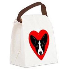 CWCLove2BW Canvas Lunch Bag