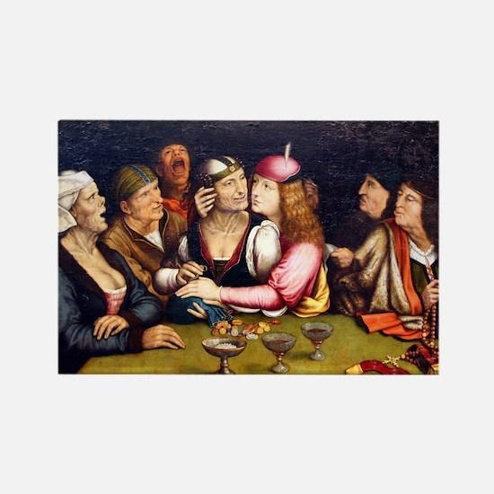 Unequal Marriage - Quinten Massys - c 1520 Magnets