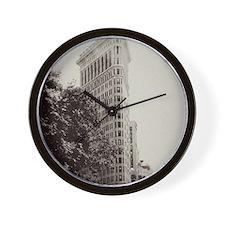 Vintage Flatiron Wall Clock