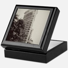 Vintage Flatiron Keepsake Box