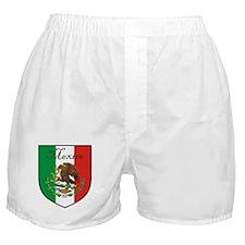 Mexican Flag / Mexico Crest Boxer Shorts
