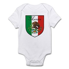 Mexican Flag / Mexico Crest Infant Bodysuit