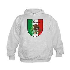 Mexican Flag / Mexico Crest Hoodie