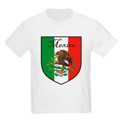 Mexican Flag / Mexico Crest Kids T-Shirt