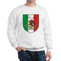 Mexican Flag / Mexico Crest Sweatshirt