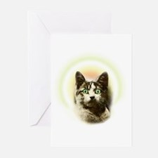 God Cat Greeting Cards (Pk of 10)