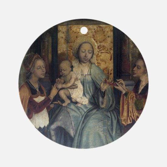 The Virgin and Child with Saints Barbara and Cathe