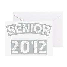 senior class of 2012_dark Greeting Card