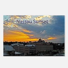 sunset Nassau20x16 Postcards (Package of 8)