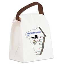 Lancaster county PA Canvas Lunch Bag