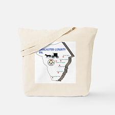 Lancaster county PA Tote Bag