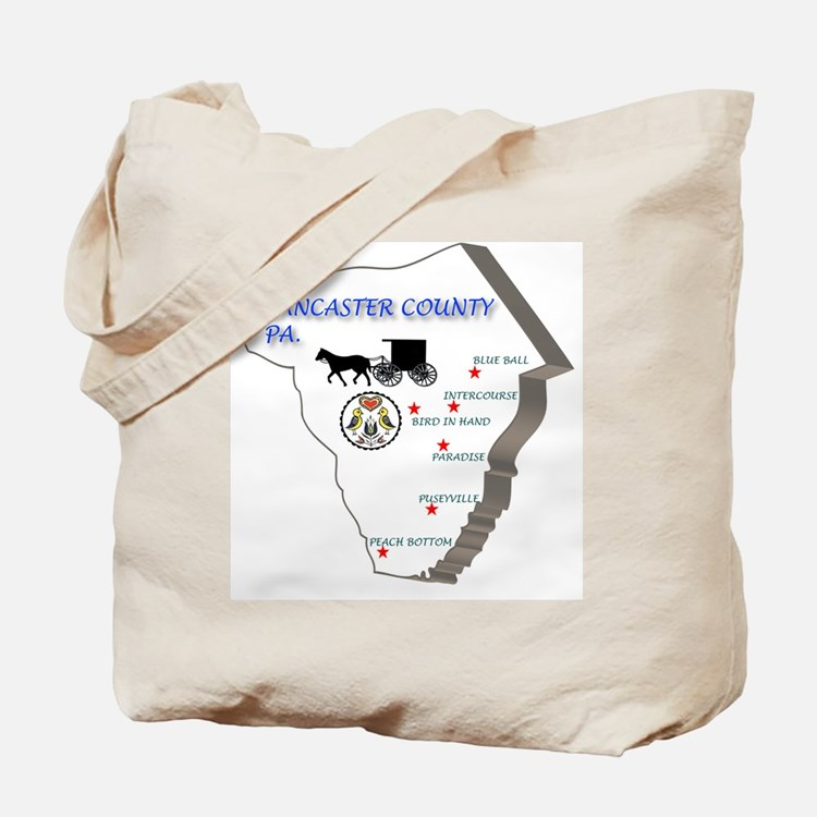 Lancaster county PA Tote Bag