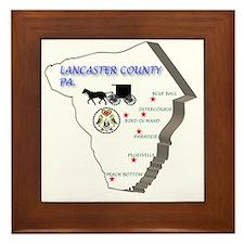 Lancaster county PA Framed Tile