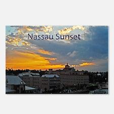 sunset Nassau11.5x9 Postcards (Package of 8)