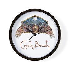 Create Beauty wall clock