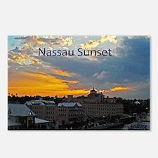 sunset Nassau12x9 Postcards (Package of 8)