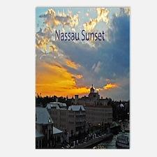 sunset Nassau5.5x8.5 Postcards (Package of 8)