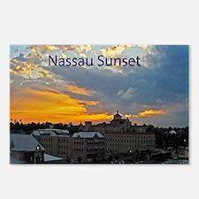 sunset Nassau9.5x8 Postcards (Package of 8)
