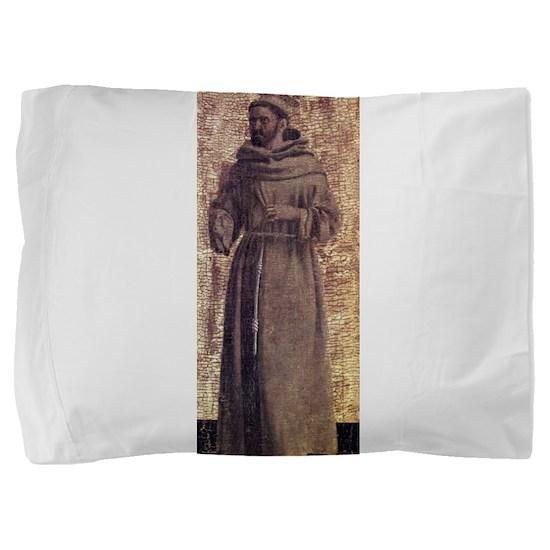 Saint Francis - Piero della Francesca Pillow Sham