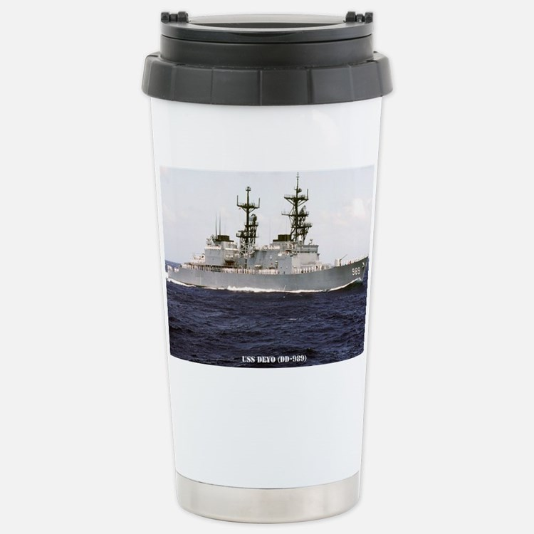 deyo large framed print Stainless Steel Travel Mug
