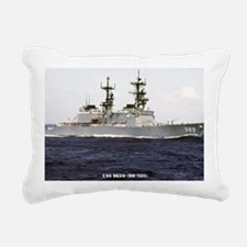 deyo large framed print Rectangular Canvas Pillow
