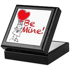 Girl-holding-heart Keepsake Box