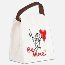 Boy-holding-heart Canvas Lunch Bag