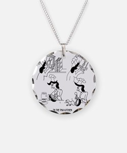8718_genetics_cartoon Necklace