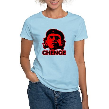 Che-Bama v4 Black On Red Women's Light T-Shirt