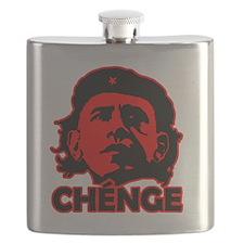 Che-Bama v4 Black On Red Flask