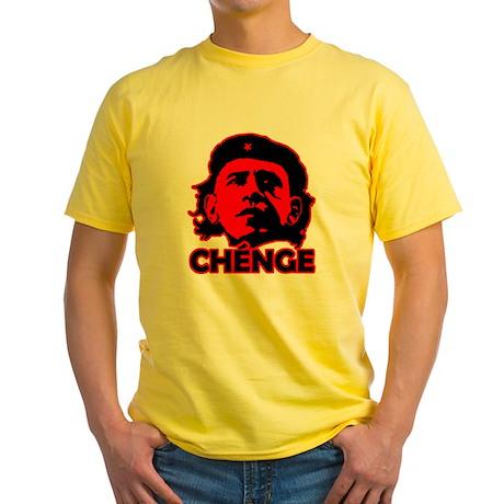 Che-Bama v4 Black On Red Yellow T-Shirt