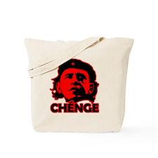 Che-Bama v4 Black On Red Tote Bag