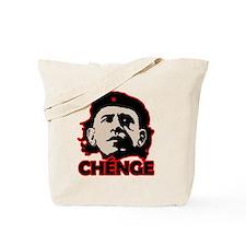 Che-Bama v4 Black Grey On Red Tote Bag