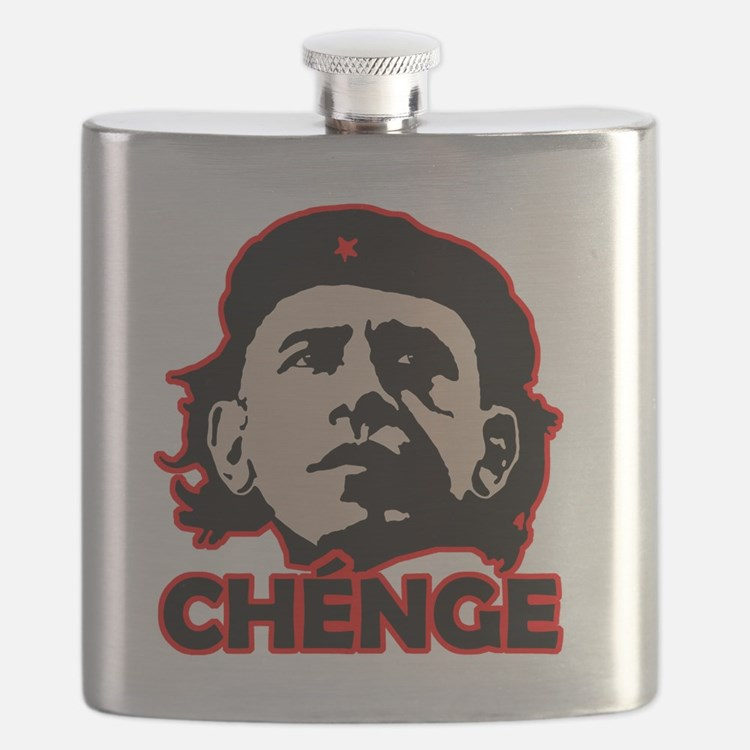 Che-Bama v4 Black Grey On Red Flask