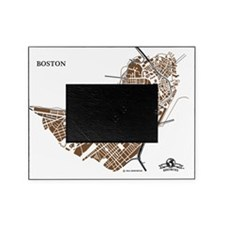 M-YL_BOS-MA_GD-BK_1 Picture Frame