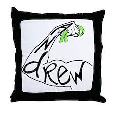 andrewribbon Throw Pillow