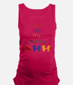 Children-are-my-business Maternity Tank Top