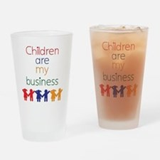 Children-are-my-business Drinking Glass