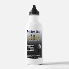 free-gear_black Water Bottle