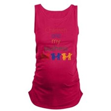 Children-are-my-business-bigger Maternity Tank Top