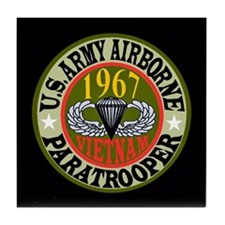 PARATROOPERS Tile Coaster