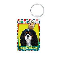BirthdayCupcakeCavalierKin Keychains