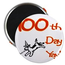 100th Day of School Yay L Magnet